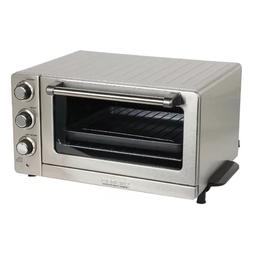 Cuisinart 0.6 Cu. Ft. Toaster Oven Broiler with Convection,