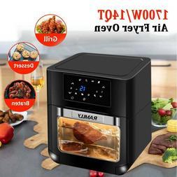 14qt 1700w electric air fryer oven