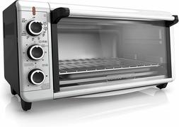1500W Kitchen Convection 2-Shelf Slot Toaster Oven 6-Slice 1