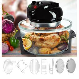17Qt Jumbo Air Fry Halogen Infrared Tabletop Convection Oven