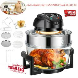 17QT Large Capacity Air Fryer Oven w 11 Accessories Timer 8