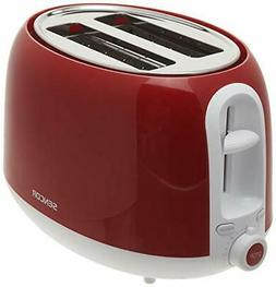 2 Slice Electric Toaster with 7 Toasting Intensity Levels