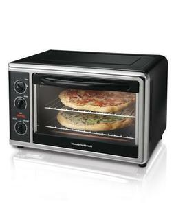 "20"" Black Rotisserie Convection Pizza Chicken Roast Bake Cou"