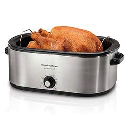 Hamilton Beach 28 lb 22-Quart Roaster Oven with Self-Basting