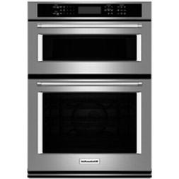 """KitchenAid 27"""" Stainless Steel Electric Built-In Microwave C"""