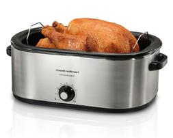 Hamilton Beach 28 lb Turkey Roaster 22 Quart Oven   Model# 3