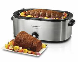 Hamilton Beach 28 lb Turkey Roaster Electric Slow Cooker Ove
