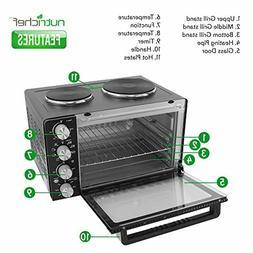 30 Quarts Kitchen Convection Oven 1400 Watt Countertop Turbo