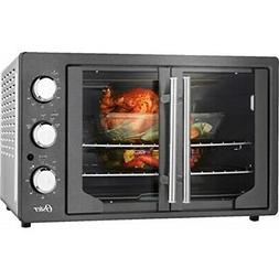 Oster 31160840 French Door Oven with Convection Charcoal Gra