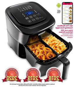 NuWave #37001 6-Qt 1800W Digital Air Fryer, 6 easy presets,