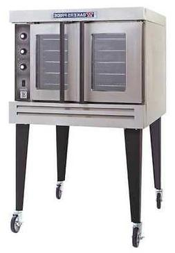 "39"" x 39"" x 63 3/8"" Single Compartment Gas Convection Ovens"