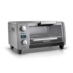 BLACK+DECKER TOD1770G 4-Slice Natural Convection Digital Toa