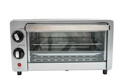 Imperial Home 4 Slice Toaster Oven Stainless Steel Multi Fun