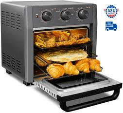 21 QT 5-IN-1 Air Fryer Toaster Oven Pro Countertop Convectio