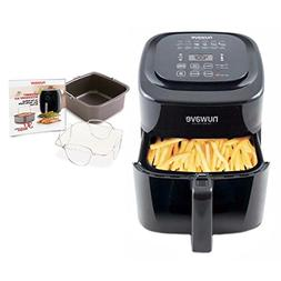 Nuwave 6 qt Brio Air Fryer with Accessory Kit, rever. rack,
