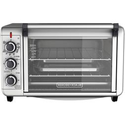 6-Slice Convection Countertop Toaster Oven Pizza Bake RV Col