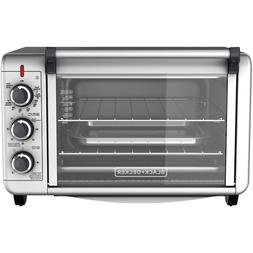 6-Slice Convection Countertop Toaster Oven Stainless Steel S