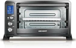 TOSHIBA 6-Slice Convection Toaster Oven/Rotisserie with Digi