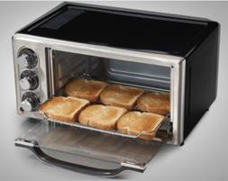 Hamilton Beach 6 Slice Convection Toaster Oven with Bake Pan