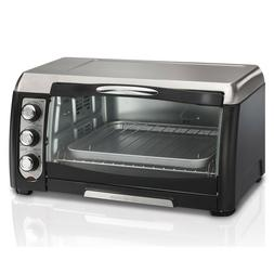 6-Slice Gray Convection Toaster Oven w/ Auto Shut-Off 12 Inc