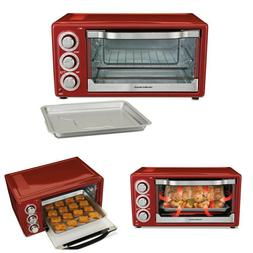 6 Slice Toaster Oven Convection Broiler Bake Toast Crumb Tra