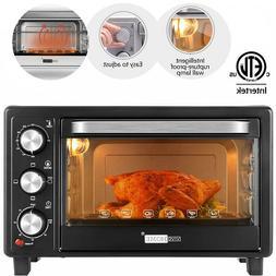 6 slice toaster oven convection broiler baker