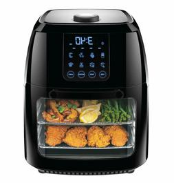 Chefman 6L Digital Air Fryer Rotisserie Dehydrator Convectio