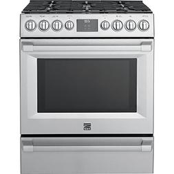 Kenmore PRO 5.1 cu. ft. Self Clean Gas Range in Stainless St