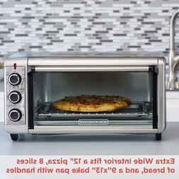 8-Slice Extra Wide Convection Countertop Toaster Oven Bake P
