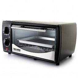 Better Chef 9 Liter Toaster Oven Broiler- Black With Stainle