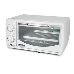 Better Chef 9 Liter Toaster Oven Broiler-White, NEW