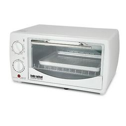 Better Chef 9 Liter Toaster Oven Broiler - White  For Home K