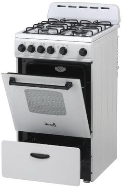 "Avanti Model GR2011CW - 20"" Gas Range"