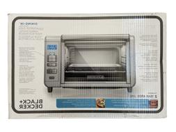 BLACK+DECKER 6-Slice Digital Convection Countertop Toaster O