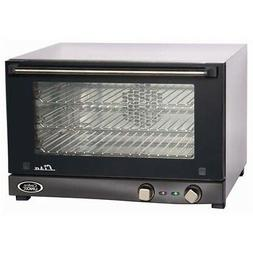 Cadco OV-013 Compact Half Size Convection Oven with Manual C