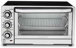 Cuisinart TOB-40FR Custom Classic Toaster Oven Broiler, Silv