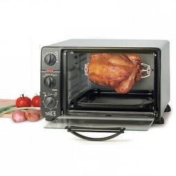 Elite Cuisine ERO-2008N Countertop Toaster Oven, 60-Min Time