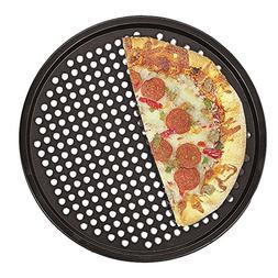 Fox Run 4491 Pizza Crisper Pan, Carbon Steel, Non-Stick