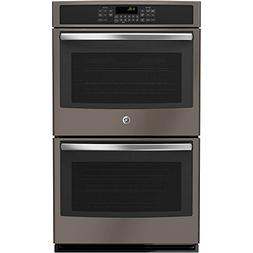"Ge - 30"" Built-in Double Electric Convection Wall Oven - Sla"