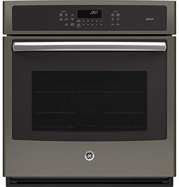 "Ge - Profile 27"" Built-in Single Electric Convection Wall Ov"