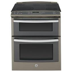 "Ge - Profile Series 30"" Self-cleaning Slide-in Double Oven E"