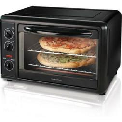 Countertop Toaster Oven with Convection, Black | 31121AHamil