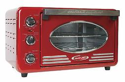 Nostalgia RTOV220RETRORED Retro 12-Slice Convection Toaster