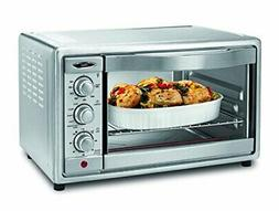 Oster Convection Toaster Oven, 6 Slice, Brushed Stainless St