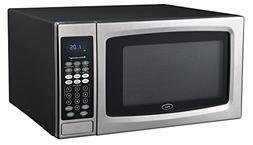Oster OGZE1304S 1100W Sensor Microwave Oven, 1.3 cu. ft, Sta