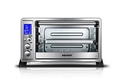 ac25cew-ss digital convection oven, 6-slice bread/12-inch pi