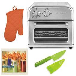 Cuisinart AFR-25 Air Fryer, Silver Includes Oven Mitt, Mini
