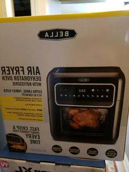 BELLA  10 Liter Air Convection Fryer Oven Dehydrator with Ac