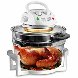 Nutrichef Air Fryer Infrared Convection Oil Less Halogen Ove