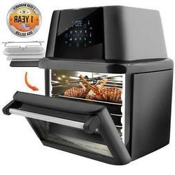 NutriChef Air Fryer Plus Food Dehydrator Electric Air Fry Ro